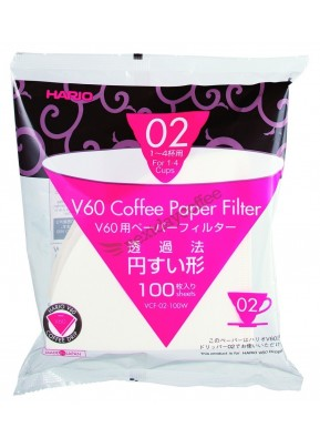 Papírové filtry k Hario V60 - 02 (bělené)