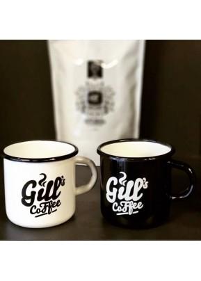 Gill´s Coffee Retro Plecháček Bílý 1 Ks