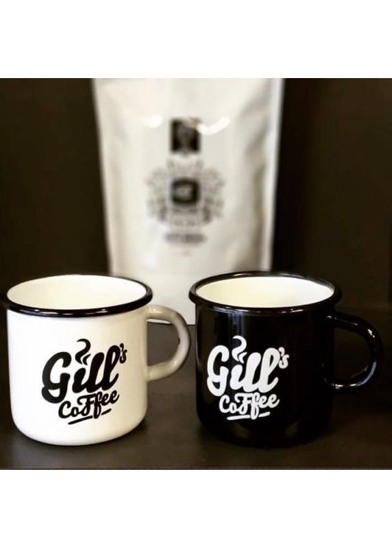 Gill´s Coffee Retro Plecháček Černý 1 Ks