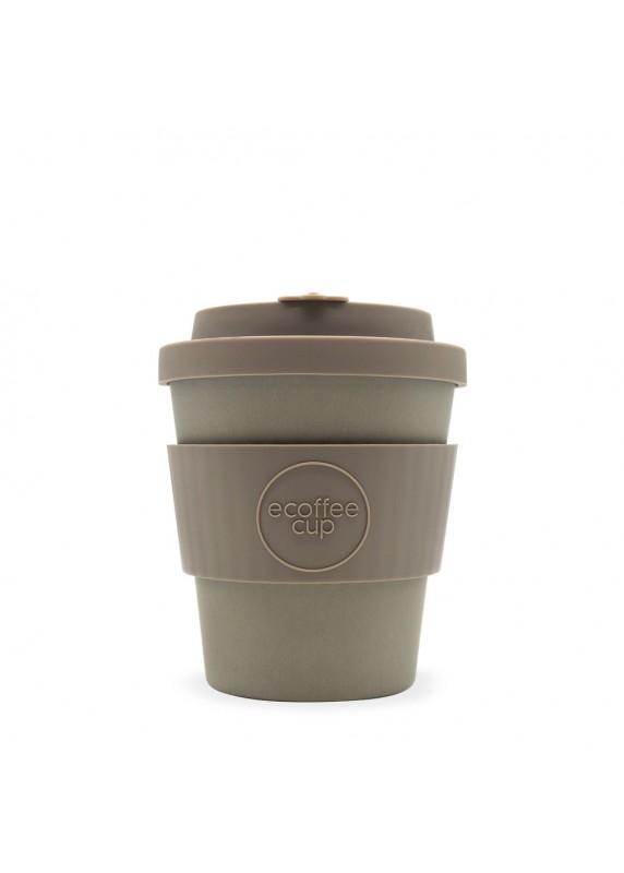 ECoffee Cup Bambusový kelímek na kávu 240 ml Molto Grigio